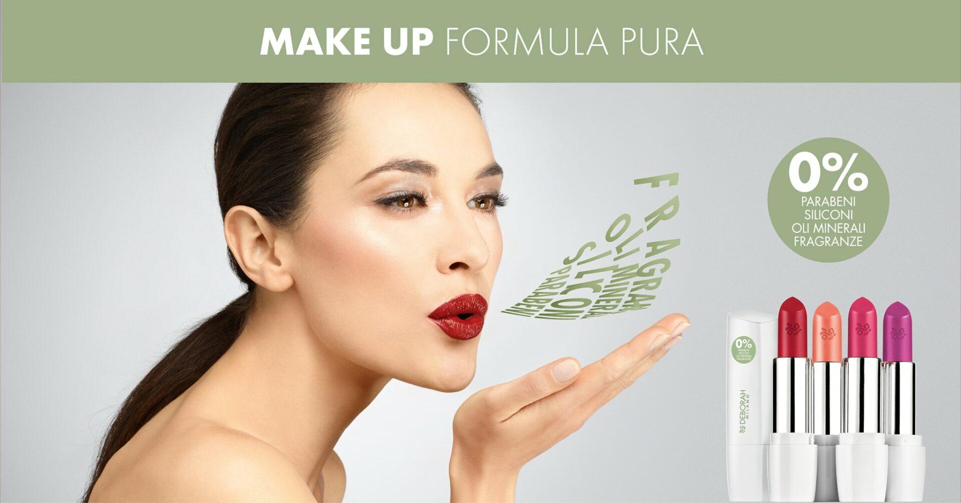 Maquillage Naturel, notre nouvelle gamme Deborah Milano Pura