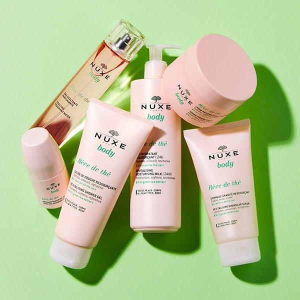 Nouvelle gamme chez NUXE au Thé vert
