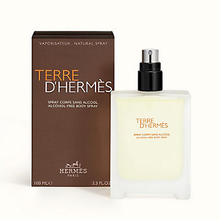 Terre d'Hermès spray corps sans alcool