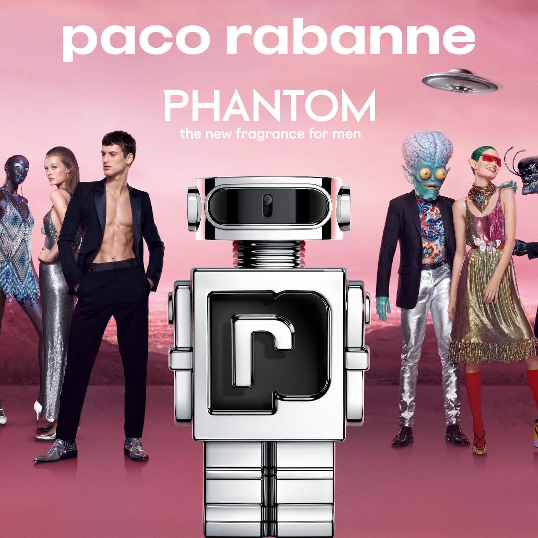 Phantom, le premier parfum connecté!